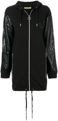 Versace hooded coat