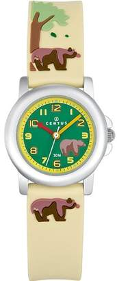 BEIGE Certus Paris Kids' 647498 Silicone Designed Bracelet Watch