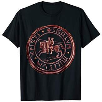 Knights Templar T-Shirt Distressed Seal Christ's Army