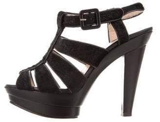 Christian Louboutin Caged Platform Heels