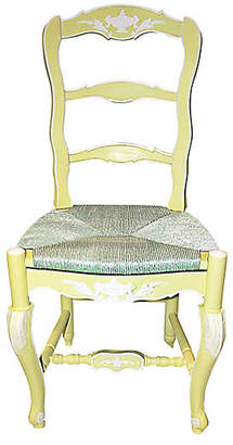 One Kings Lane Vintage French Country Ladderback Chair
