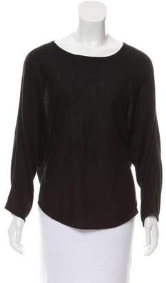 Zadig & Voltaire Long Sleeve Silk Sweater