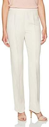 Kasper Women's Linen Side Zip Pant