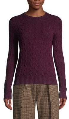 Polo Ralph Lauren Julianna Cable-Knit Sweater