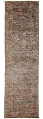 "Solo Rugs One-of-a-kind Vibrance Hand-knotted Runner Rug 3' 1"" x 10' 3"""