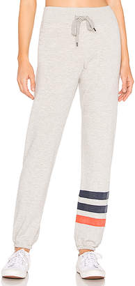 Sundry Striped Basic Sweatpant