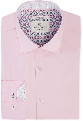 Con. Struct Men's Slim-Fit Stretch Solid Dress Shirt