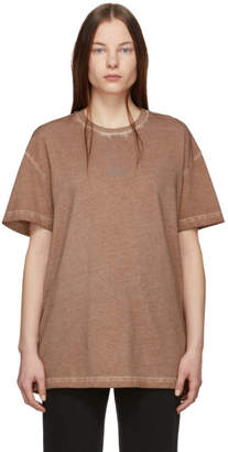 A-Cold-Wall* Brown Bracket T-Shirt