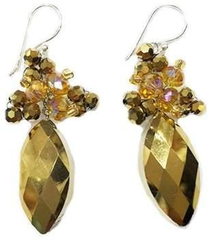 Ananda Crystal Drop Earrings