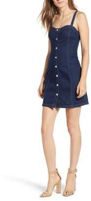 KENDALL + KYLIE Denim Body-Con Dress