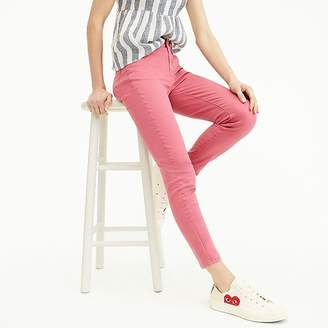 "J.Crew Petite 8"" toothpick garment-dyed jean"