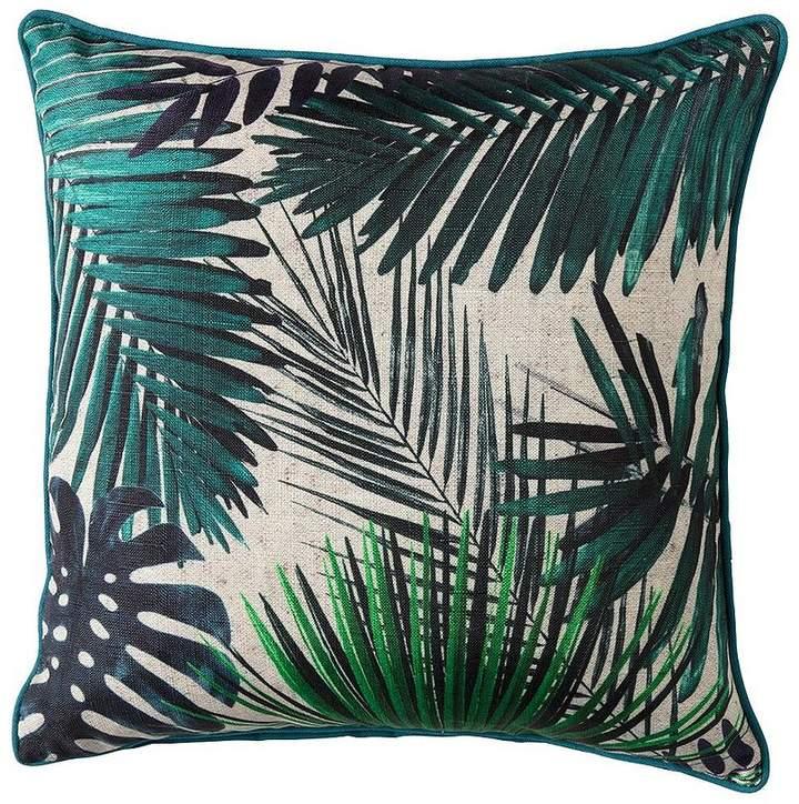 Palm Leaves Cushion