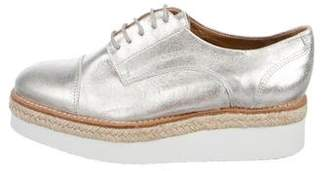 Kurt Geiger Leather Platform Oxfords