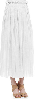Elie Tahari Luna Pleated Maxi Skirt $298 thestylecure.com