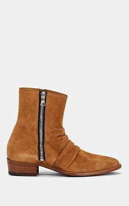 Amiri Men's Skinny Stack Suede Boots