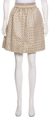 Marc by Marc Jacobs Knee-Length Polka-Dot Skirt