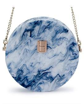 Olga Berg Kandy Round Acrylic Shoulder Bag