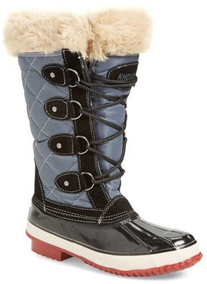 Women's Khombu Andie Waterproof Boot $128.95 thestylecure.com