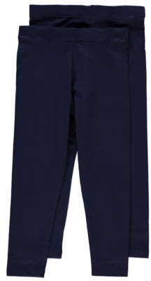 George Navy Leggings 2 Pack