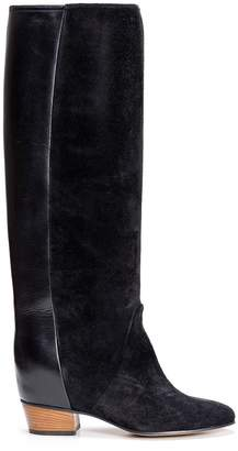 Golden Goose Boots Theresa In Black Suede