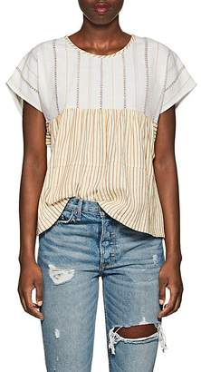 Ace&Jig Women's Marfa Striped Cotton Top