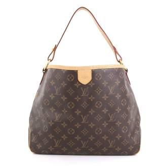 Louis Vuitton Delightful Brown Cloth Handbags