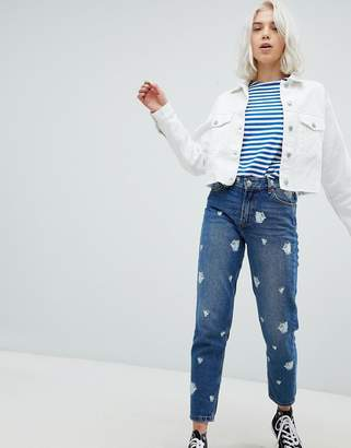 Pull&Bear Beauty And The Beast Mom Jeans