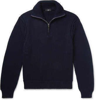 Dunhill Wool Half-Zip Sweater
