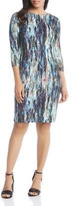 Karen Kane Printed Sheath Dress