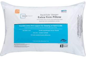 Mainstays 100% Polyester Extra Firm Pillow Set of 2, Multiple Sizes