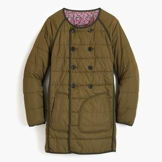 J.Crew Reversible puffer jacket in Liberty® floral
