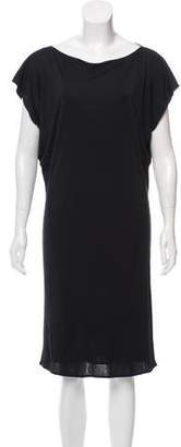 Maison Margiela Short Sleeve Midi Dress