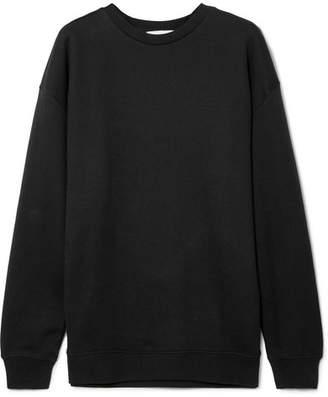 Ninety Percent - Linda Oversized Organic Cotton-jersey Sweatshirt - Black