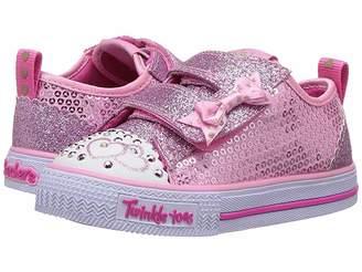 Skechers Twinkle Toes - Shuffles Itsy Bitsy 10764N Lights (Toddler/Little Kid)
