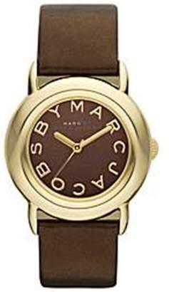 Marc Shoes by Women's MBM1185 Leather Quartz Watch