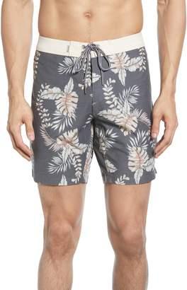 38f730bc78 rhythm Vintage Floral Print Board Shorts