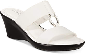 Easy Street Shoes Tuscany by Marietta Wedge Sandals Women's Shoes