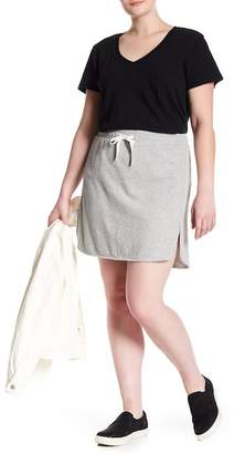 Susina Pull-On Knit Skirt (Plus Size)