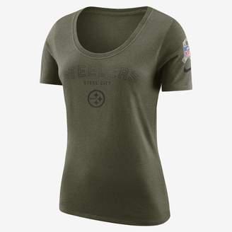 Nike Legend Salute to Service (NFL Steelers) Women's T-Shirt
