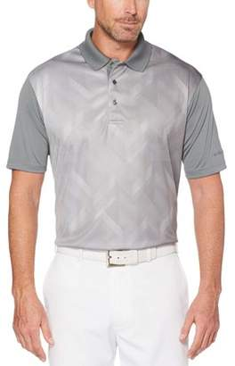 Hogan Ben Big Men's Performance Short Sleeve Ombre Printed Golf Polo