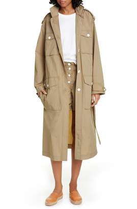 Rag & Bone Maude Nylon Coat Dress