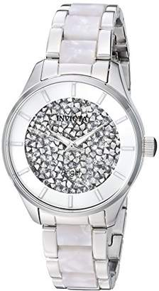 Invicta Women's 'Angel' Quartz Stainless Steel Casual Watch