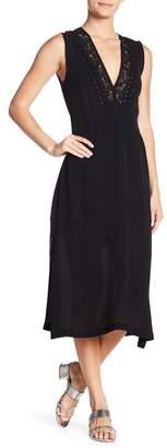 A.L.C. Araya Sleeveless Silk Midi Dress