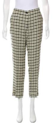 Etro Printed Mid-Rise Skinny Pants w/ Tags