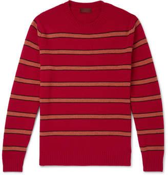 Altea Striped Virgin Wool Sweater