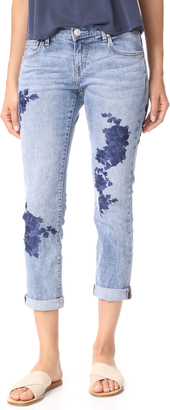 True Religion Cameron Slim Boyfriend Jeans $249 thestylecure.com