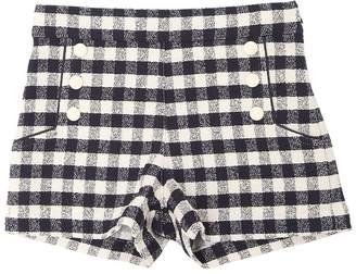 Cotton Bouclé Shorts