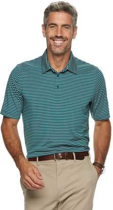Croft & Barrow Men's Feeder-Striped Polyester Polo