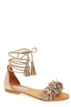 Women's Steve Madden 'Sweetyy' Lace-Up Sandal $79.95 thestylecure.com