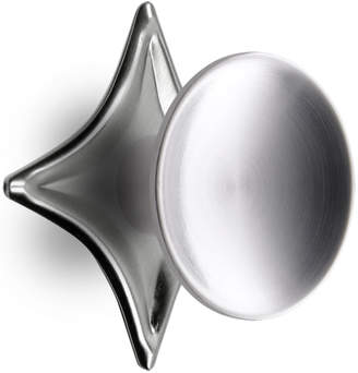 Rejuvenation Dish Cabinet Knob with Star Backplate